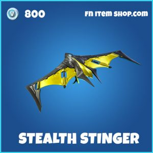 Stealth Stinger rare fortnite glider