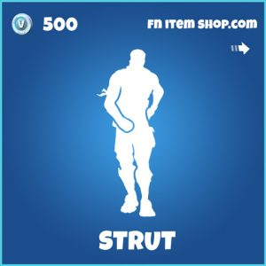 Strut rare fortnite wrap
