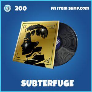 Subterfuge rare fortnite music