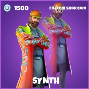Synth epic fortnite skin