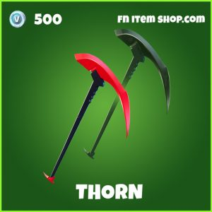 Thorn uncommon fortnite pickaxe