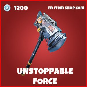 Unstoppable Force epic marvel x-force fortnite pickaxe
