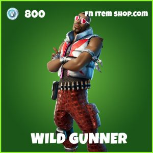 Wild Gunner uncommon fortnite skin