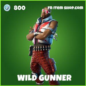 Wild Gunner uncommon fortnite skin