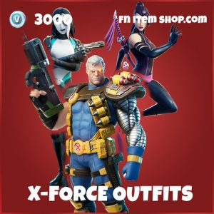 x-force  epic fortnite skin bundle marvel