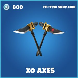 XO Axes fortnite rare picakxe