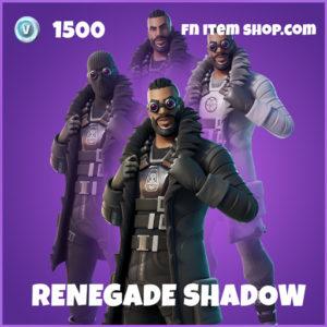 Renegade Shadow epic fortnite skin