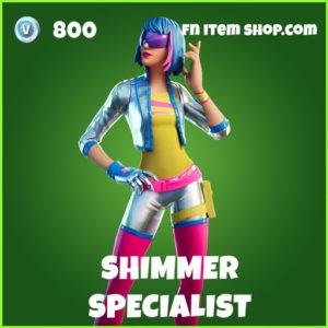 Shimmer Specialist uncommon fortnite skin
