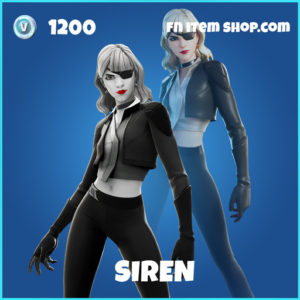 Siren rare fortnite skin