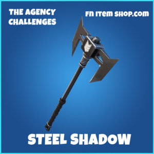 Steel shadow rare fortnite pickaxe