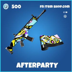 Afterparty rare fortnite wrap
