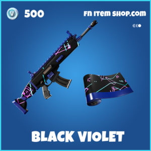 Black Violet rare fortnite wrap