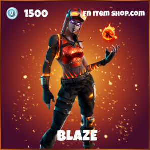 Blaze fortnite epic skin