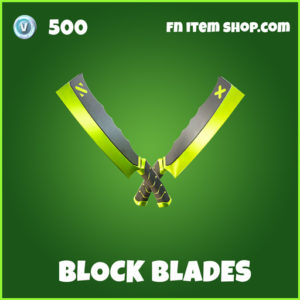 Block Blades uncommon fortnite pickaxe