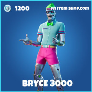 Bryce 3000 rare fortnite skin