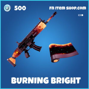 Burning Bright rare fortnite wrap