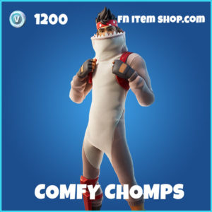 Comfy Chomps rare fortnite skin