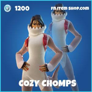 Cozy Chomps rare fortnite skin