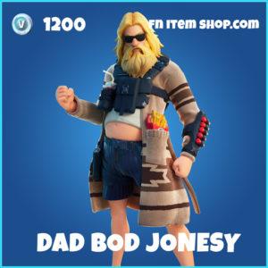Dad Bod Jonesy rare fortnite skin
