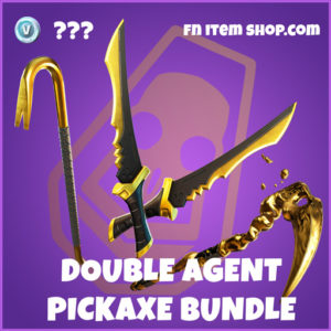 Double Agent pickaxes