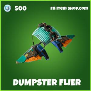 Dumpster Flier uncommon fortnite glider
