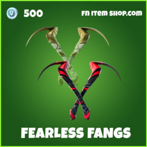 Fearless Fangs uncommon fortnite pickaxe