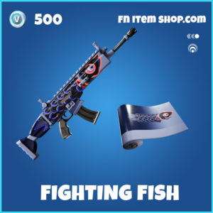 Fighting Fish rare fortnite wrap