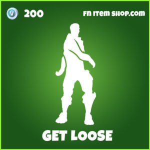 Get Loose uncommon fortnite emote