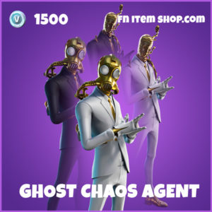 Ghost Chaos Agent epic fortnite skin