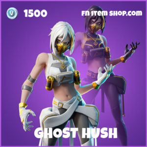Ghost Hush epic fortnite skin
