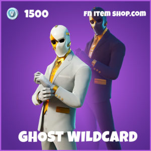 Ghost Wildcard epic fortnite skin