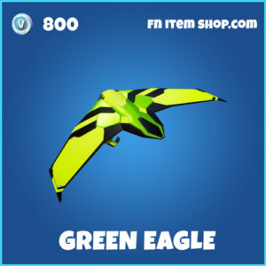 Green Eagle rare fortnite glider