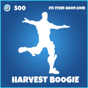 Harvest Boogie rare fortnite emote