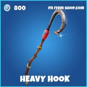Heavy Hook rare fortnite pickaxe