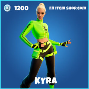 Kyra rare fortnite skin