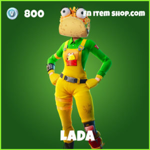 Lada uncommon fortnite skin