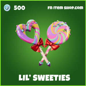 Lil' Sweeties uncommon fortnite pickaxe