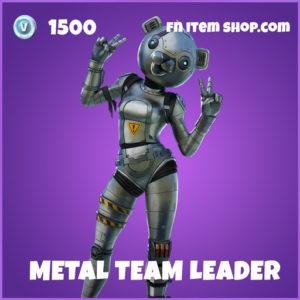 Metal Team Leader epic fortnite skin