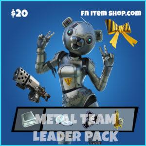 Metal team Leader Pack STW Starter pack fortnite save the world