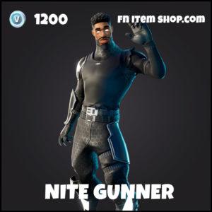Nite Gunner rare fortnite skin