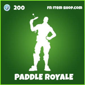 Paddle Royale uncommon fortnite emote