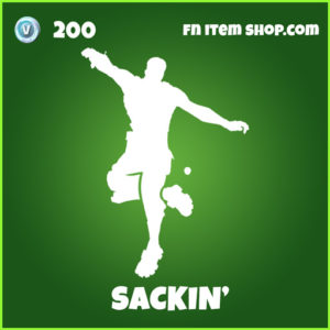 Sackin' uncommon fortnite emote
