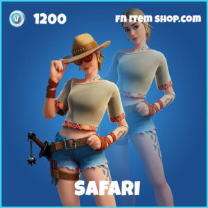Safari rare fortnite skin