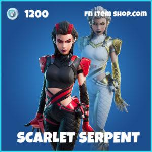 Scarlet Serpent rare fortnite skin