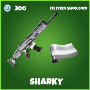 Sharky uncommon fortnite wrap