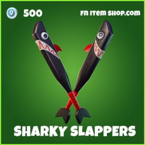 Sharky Slappers uncommon fortnite pickaxe