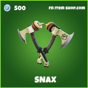 Snax uncommon fornite pickaxe