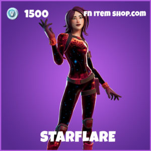 Starflare epic fortnite skin