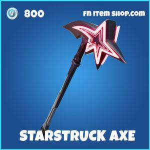 Starstruck axe rare fortnite pickaxe