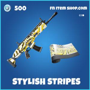 Stylish Stripes rare fortnite wrap